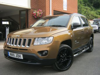 2011 JEEP COMPASS 2.1 CRD 70TH ANNIVERSARY 5d 161 BHP £7495.00