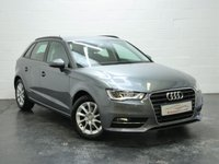 USED 2014 14 AUDI A3 2.0 TDI SE 5d 148 BHP 1 OWNER + FULL AUDI HISTORY + BLUETOOTH TELEPHONE AND AUDIO