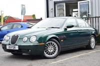 USED 2006 JAGUAR S-TYPE 2.7 V6 SE 4d AUTO 206 BHP FULL SERVICE HISTORY BOASTING 11 STAMPS! MUST BE SEEN!