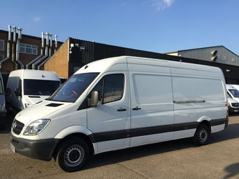2013 MERCEDES-BENZ SPRINTER 2.1 313 CDI LWB HIGH ROOF 130BHP. LOW 106K. REVERSE CAMERA. £6990.00