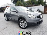 USED 2013 63 NISSAN QASHQAI 1.5 ACENTA DCI 5d 110 BHP 2 PREVIOUS OWNERS