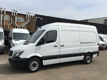 2016 MERCEDES-BENZ SPRINTER 2.1 313CDI MWB HIGH ROOF 130BHP 1 OWNER. F/S/H. FINANCE. PX £9750.00