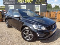2014 VOLVO XC60 2.4 D5 R-Design Lux Nav Geartronic AWD 5dr £16000.00