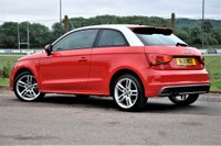 USED 2011 11 AUDI A1 1.4 TFSI S line 3dr LONG MOT AAwrty COOL red
