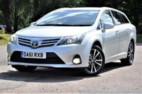 USED 2011 61 TOYOTA AVENSIS 2.0 D-4D TR 5dr FSH AA wrtyy +£30 TAX