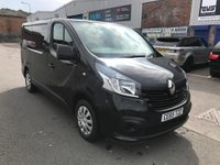 2015 RENAULT TRAFIC 1.6 SL27 BUSINESS PLUS ENERGY DCI S/R P/V 1d 120 BHP £9995.00