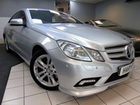 USED 2010 59 MERCEDES-BENZ E CLASS 3.0 E350 CDI BLUEEFFICIENCY SPORT 2d AUTO 231 BHP