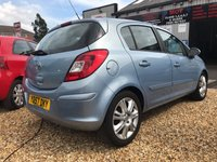 USED 2007 57 VAUXHALL CORSA 1.4 DESIGN 16V 5d AUTO 90 BHP A VERY NIPPY AUTOMATIC IN A LOVELY METALLIC BLUE:
