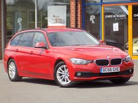 USED 2016 66 BMW 3 SERIES 2.0 320d Efficient Dynamics Plus 5dr Touring ** Sat Nav + Leather **
