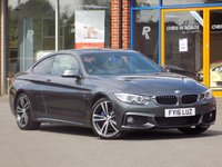 USED 2016 16 BMW 4 SERIES 2.0 420d M Sport 2dr Auto (Professional Media) ** Sat Nav + Leather + 19's **