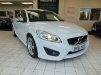 USED 2011 61 VOLVO C30 1.6 D2 R-DESIGN 3d 113 BHP SERVICE HISTORY + FULL MOT + WINTER PACK + ALLOYS + BLUETOOTH + CRUISE CONTROL + ELECTRONIC CLIMATE CONTROL + SPORT SEATS + LOW CAR TAX + GREAT MPG