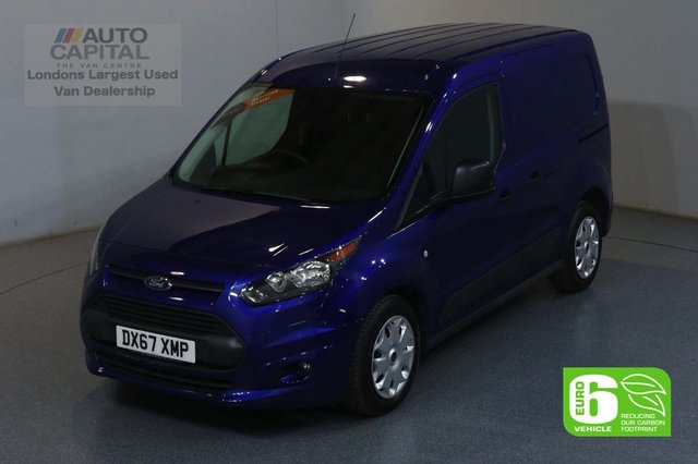 2017 67 FORD TRANSIT CONNECT 1.5 200 TREND 120 BHP SWB EURO 6 ENGINE MANUFACTURE WARRANTY UNTIL 31/08/2020