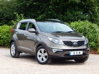 USED 2012 62 KIA SPORTAGE 1.7 CRDI 2 5d 114 BHP FULL SERVICE HISTORY, NEW MOT, FINANCE AVAILABLE