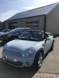 USED 2011 11 MINI CONVERTIBLE 1.6 COOPER 2d 122 BHP
