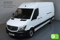 USED 2017 17 MERCEDES-BENZ SPRINTER 2.1 314CDI LWB 140 BHP EURO 6 ENGINE MOT UNTIL 25/05/2020