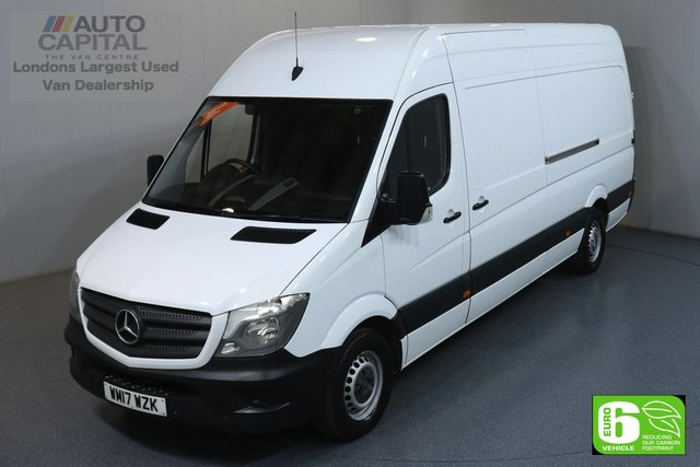 2017 17 MERCEDES-BENZ SPRINTER 2.1 314CDI LWB 140 BHP EURO 6 ENGINE MOT UNTIL 25/05/2020