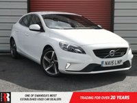 USED 2015 15 VOLVO V40 1.6 D2 R-DESIGN LUX NAV 5d 113 BHP Sports Pedals And Lowered Sports Chassis