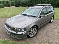 2004 VOLVO V40 1.8 SPORT 5d 121 BHP Full Service History MOT 06/20, Leather  £1449.00