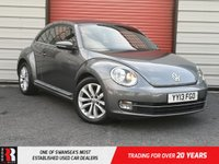 USED 2013 13 VOLKSWAGEN BEETLE 2.0 DESIGN TDI 3d 139 BHP Chrome Air Vent Surround & Chrome Strip On Lower Grille