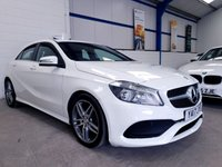 USED 2017 17 MERCEDES-BENZ A CLASS 1.6 A 160 AMG LINE 5d AUTO 102 BHP