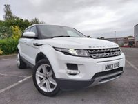 2012 LAND ROVER RANGE ROVER EVOQUE 2.2 SD4 PURE TECH 5d £13600.00