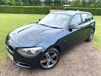 2014 BMW 1 SERIES 1.6 116I SPORT 5d AUTO 135 BHP, Full BMW History, MOT 07/20 £10649.00