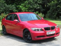 USED 2007 07 BMW 3 SERIES 2.0 318I SE 4d AUTO 128 BHP 19 INCH ALLOY WHEELS, REAR PDC