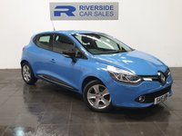 USED 2015 15 RENAULT CLIO 0.9 DYNAMIQUE MEDIANAV ENERGY TCE S/S 5d 90 BHP FINANCE AVAILABLE FROM 7.9% APR