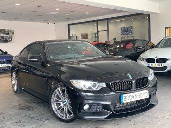 2015 BMW 4 SERIES 2.0 420D XDRIVE M SPORT 2d AUTO 188 BHP £14990.00