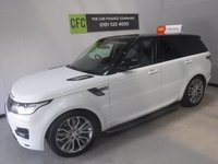 "USED 2013 63 LAND ROVER RANGE ROVER SPORT 3.0 SDV6 HSE DYNAMIC 5d AUTO 288 BHP SAT NAV, FRONT AND REAR LEATHER HEATED SEATS, 21"" ALLOYS"