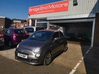2014 FIAT 500 1.2 S 3d 69 BHP £5995.00
