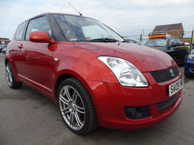 USED 2009 09 SUZUKI SWIFT 1.3 ATTITUDE 3d GREAT FIRST CAR