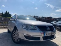 USED 2009 09 VOLKSWAGEN PASSAT 2.0 HIGHLINE TDI 5d 109BHP Estate  MEDIA+LEATHER HEATED SEATS+CD+ELEC+NEW CLUTCH 2018+ALLOY+CRUISE+