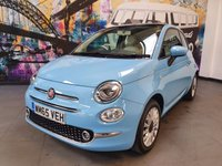 2015 FIAT 500 1.2 LOUNGE 3d 69 BHP £6494.00