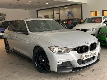 2014 BMW 3 SERIES 2.0 320D M SPORT 4d AUTO 181 BHP £13990.00