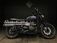 USED 2016 66 TRIUMPH BONNEVILLE SCRAMBLER 2016. ONLY 3597 MILES. 1 OWNER FROM NEW