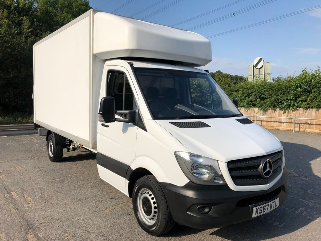 USED 2018 67 MERCEDES-BENZ SPRINTER 2.1CDI 314 LWB LUTON TAIL-LIFT (EURO 6)(140 BHP)