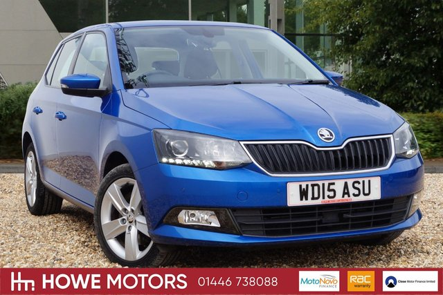 2015 15 SKODA FABIA 1.2 SE L TSI DSG 5d AUTO 109 BHP PARKING SENSORS BLUETOOTH BOLERO RADIO WITH DAB ICE-COLD CLIMATE