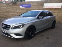 2014 MERCEDES-BENZ A CLASS 1.5 A180 CDI BLUEEFFICIENCY SPORT 5d AUTO  109 BHP £12499.00