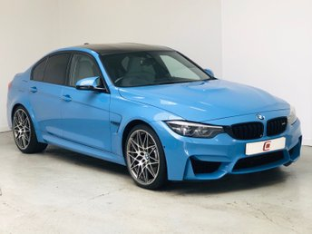 2017 BMW M3 3.0 COMPETITION PACKAGE 4d AUTO 444 BHP £42995.00