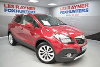 USED 2016 65 VAUXHALL MOKKA 1.6 SE CDTI 5d AUTO 134 BHP Full Vauxhall Service History, Cruise control, Leather, 1 owner