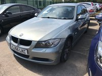 USED 2006 56 BMW 3 SERIES 2.0 318I SE 4d 128 BHP SATNAV LEATHER MOT 06/20 SATELLITE NAVIGATION. GREEN MET WITH GREY LEATHER TRIM. HEATED SEATS. CRUISE CONTROL. 17 INCH ALLOYS. COLOUR CODED TRIMS. PRIVACY GLASS. PARKING SENSORS. CLIMATE CONTROL INCLUDING AIR CON. R/CD PLAYER. 6 SPEED MANUAL. MFSW. MOT 06/20. AGE/MILEAGE RELATED SALE. P/X CLEARANCE CENTRE LS23 7FQ. TEL 01937 849492 OPTION 4