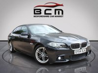 2015 BMW 5 SERIES 3.0 530D M SPORT 4d AUTO 255 BHP £14985.00