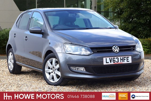 2013 63 VOLKSWAGEN POLO 1.4 MATCH EDITION DSG 5d AUTO 83 BHP BLUETOOTH CRUISE PDC ICE-COLD AIRCON 15