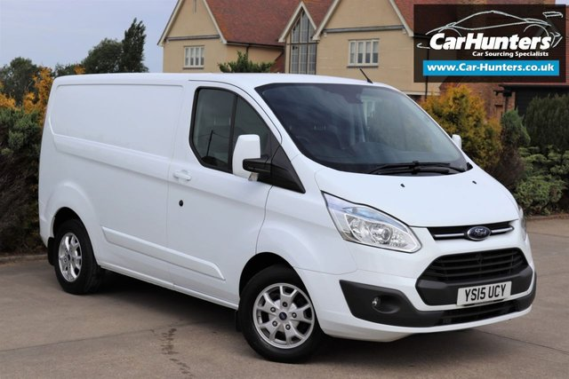 2015 15 FORD TRANSIT CUSTOM 2.2 290 LIMITED LR P/V 1d 124 BHP