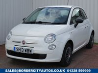 USED 2013 13 FIAT 500 1.2 POP 3d 69 BHP £30 PER YEAR ROAD TAX