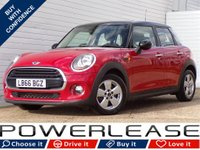 USED 2016 66 MINI HATCH COOPER 1.5 COOPER 5d AUTO 134 BHP 30 POUND TAX HEATED SEATS