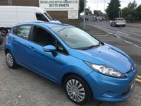 2010 FORD FIESTA 1.4 EDGE 5d AUTO 96 BHP £SOLD