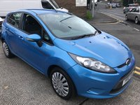 USED 2010 10 FORD FIESTA 1.4 EDGE 5d AUTO 96 BHP