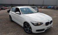 2014 BMW 1 SERIES 2.0 118D SPORT 5d AUTO 141 BHP £9990.00